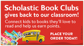 Shop Scholastic Book Club to earn free books for our class!