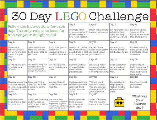 30 day lego chall